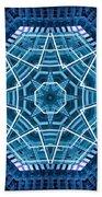 Abstract Blue 19 Beach Towel