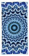 Abstract Blue 25 Beach Towel