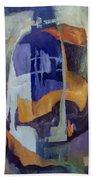 Abstract Bridges Beach Towel