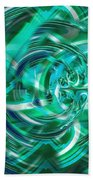 Abstract Brutality The Vortex Beach Towel