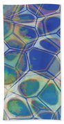 Abstract Cells 5 Beach Towel