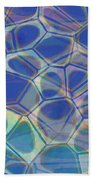 Abstract Cells 6 Beach Towel