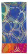 Cells 7 - Abstract Painting Beach Towel