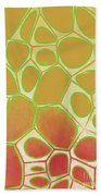 Abstract Cells 2 Beach Towel