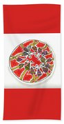 Abstract Circle Design #1 Beach Towel