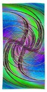 Abstract Cubed 261 Beach Towel