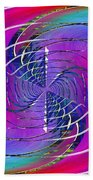 Abstract Cubed 262 Beach Towel
