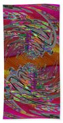 Abstract Cubed 320 Beach Towel