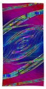 Abstract Cubed 323 Beach Towel