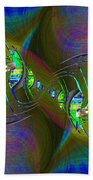 Abstract Cubed 361 Beach Towel