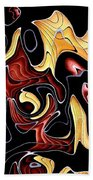Abstract Digital Art #030 Beach Towel