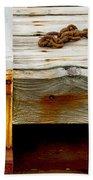 Abstract Dock Beach Towel