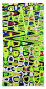 Abstract Dr #6 Beach Towel