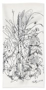 Abstract Drawing Fifty-nine Beach Towel