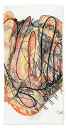 Abstract Drawing Forty-five Beach Towel
