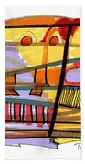 Abstract Drawing Sixty-seven Beach Towel