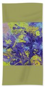 Abstract Duo Beach Towel