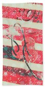 Abstract Dynamite Charge Beach Towel