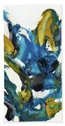 Abstract Expressionism Painting Series 715.102710 Beach Towel