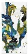 Abstract Expressionism Painting Series 716.102710 Beach Towel