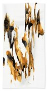 Abstract Expressionism Painting Series 734.102910 Beach Towel
