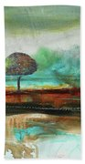 Abstract Fantasy Landscape Beach Towel