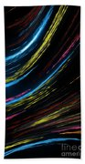 Abstract Fiber Beach Towel