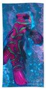 Abstract Fish Beach Towel