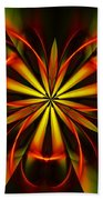 Abstract Floral 032811 Beach Towel