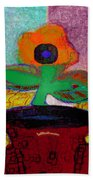 Abstract Floral Art 116 Beach Towel