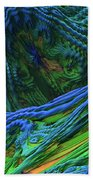 Abstract Fractal Landscape Beach Towel
