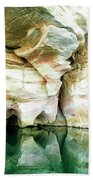 Abstract Gorge Beach Towel