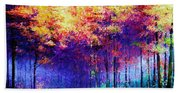Abstract Landscape 0830a Beach Towel