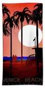 Abstract Landscape Beach Art 3 - By Diana Van Beach Towel