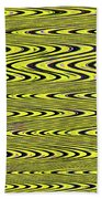 Abstract Metal Plate Beach Towel