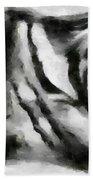 Abstract Monochome 158 Beach Towel
