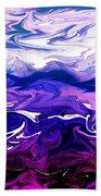 Abstract Ocean Fantasy One Beach Towel
