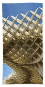 Abstract Of Metropol Parasol Pod At Plaza Of The Incarnation Sev Beach Towel