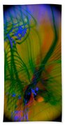 Abstract Of Music And Harmony Beach Towel