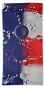 Abstract Oil And Water Usa 2 Beach Towel