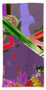 Abstract One Beach Towel