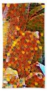 Abstract Petals Beach Towel