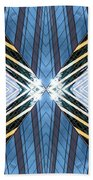 Abstract Photomontage N87v1 Dsc9063 Beach Towel