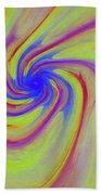 Abstract Pinwheel Beach Towel