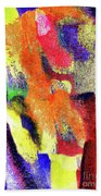 Abstract Poster Beach Towel