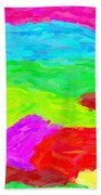 Abstract Rainbow Art By Adam Asar 3 Beach Towel