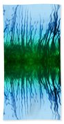 Abstract Reeds No. 1 Beach Towel
