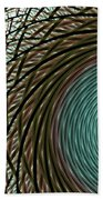 Abstract Ring Beach Towel