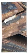 Abstract Rust 2 Beach Towel
