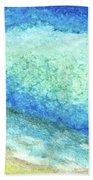 Abstract Seascape Beach Painting A1 Beach Towel